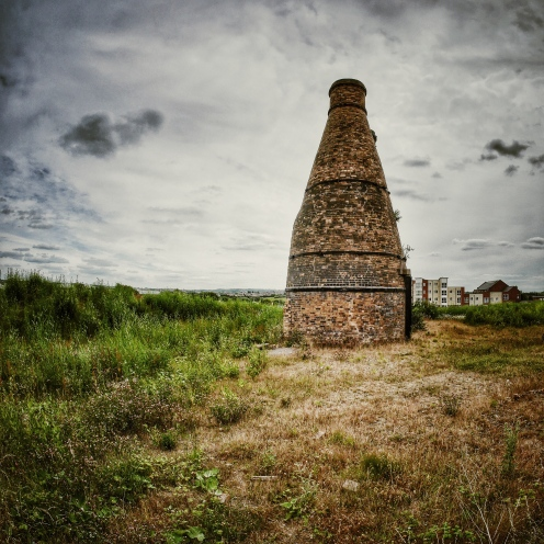Pot bank and wasteland, Stoke on Trent