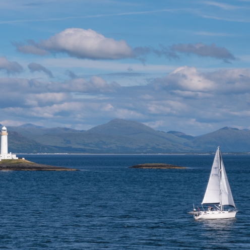 Lismore lighthouse and the 'sea-roads' of Argyll