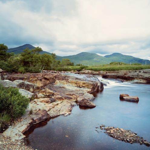 Mountain stream, Scotland