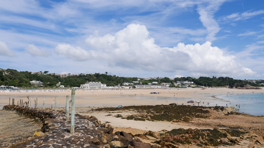 St Brelades Bay from the old jetty