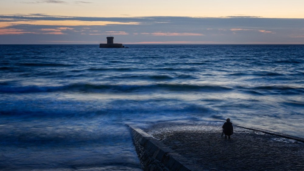 Martello Tower at St Ouens Bay