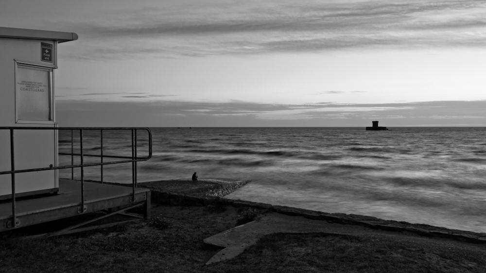 St Ouens long exposure after sunset
