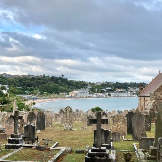 St Brelades Bay from church