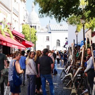Monmartre art square, Paris