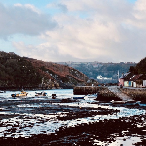 Fishguard harbour, South Wales