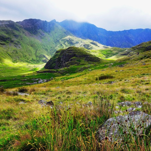 Valley and hills - Snowdon