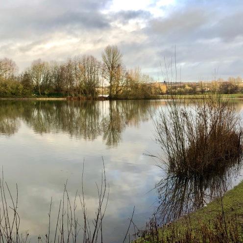 Calm reflections at Westport lake