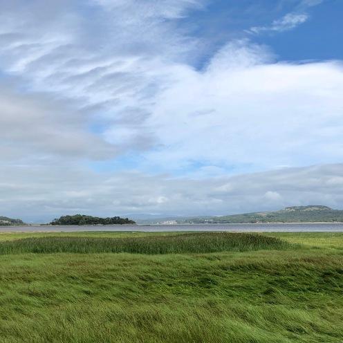 Grange over Sands estuary and sky