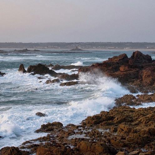 St Oeuen's seascape, Jersey